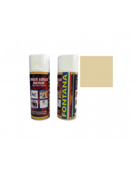 TINTA SPRAY 400ML- RAL 1014 BEGE ESCURO