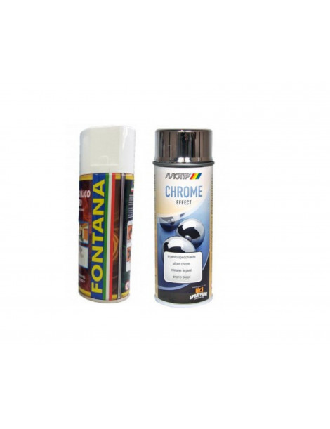 TINTA SPRAY CROMADO PRATA 400ml