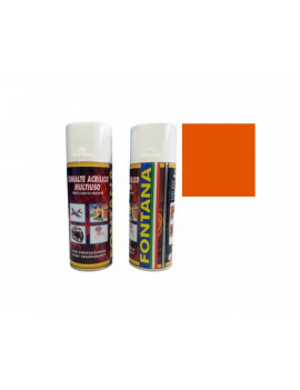 TINTA SPRAY 400ML- RAL 2004 LARANJA PURO