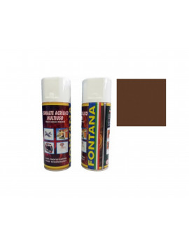TINTA SPRAY 400ML- RAL 8011 CASTANHO NOZ
