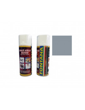 TINTA SPRAY 400ML- RAL 7001 CINZA PRATA