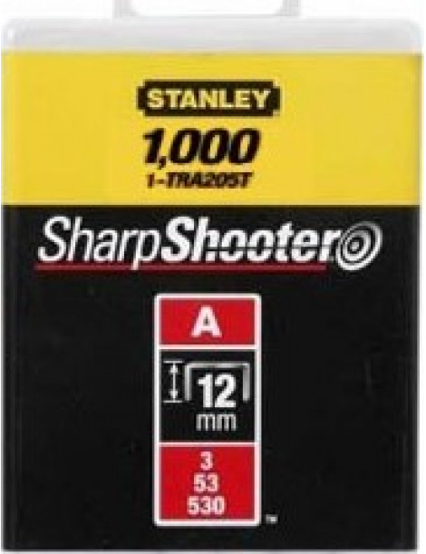 AGRAFOS STANLEY 12MM 0/69/706