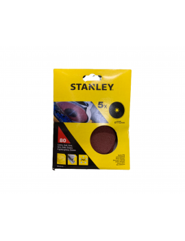 DISCO LIXA STANLEY 115MM GRAU