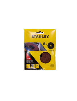 DISCO LIXA STANLEY 125MM GRAU