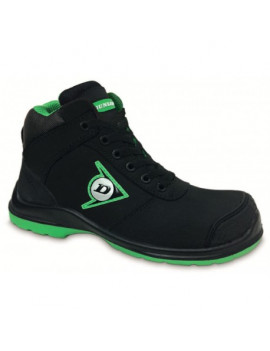 BOTA DUNLOP FIRST ONE HIGH PRETO
