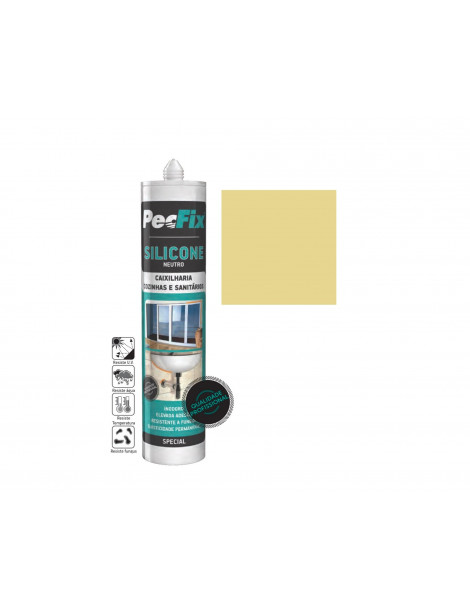 SILICONE NEUTRO COLOR PECFIX CREME 1015