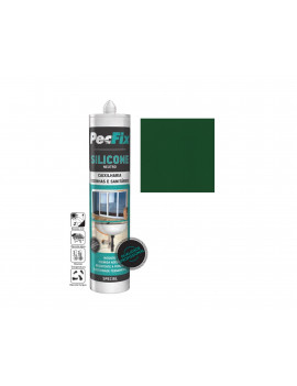 SILICONE NEUTRO COLOR PECFIX VERDE 6005