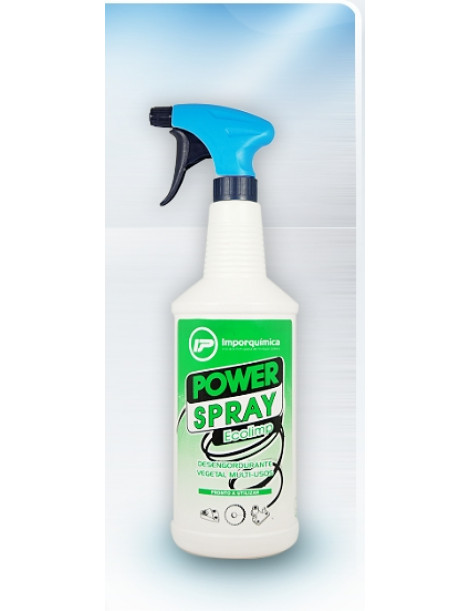 POWER SPRAY ECOLIMP 1LT (DESENGORDURANTE) (CARROS)